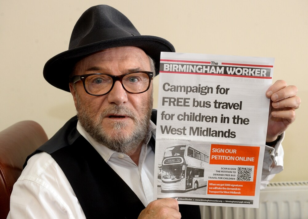 Galloway backs campaign for free buses